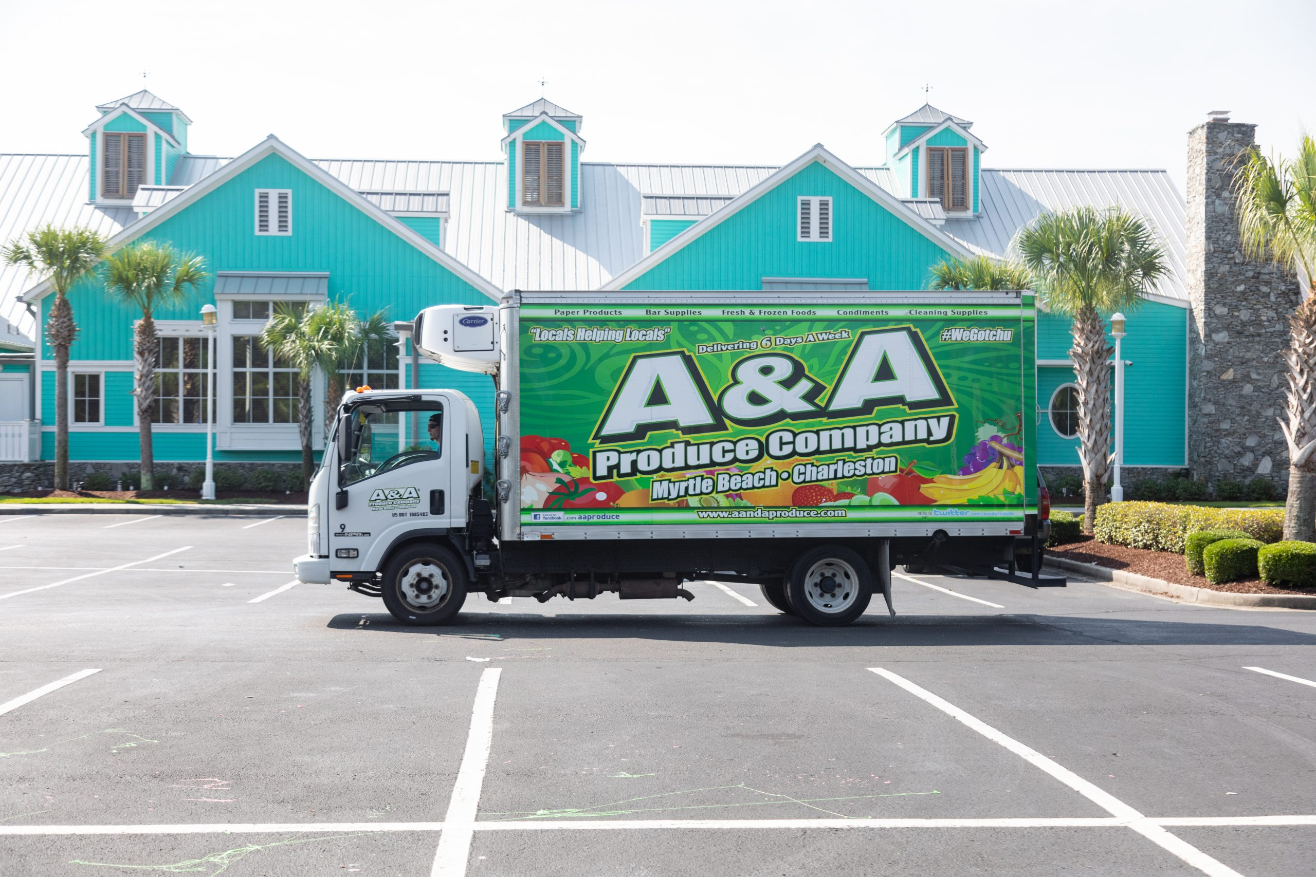 A&A delivers charleston